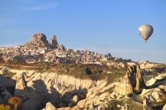Ballon dans Cappadocia TURQUIE - 13 novembre 2014 Photos libres de droits