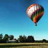 Ballon dans le ciel Image libre de droits