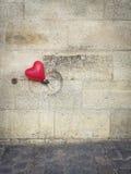 Ballon de coeur à Paris Image libre de droits