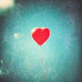 Ballon de coeur Photos stock