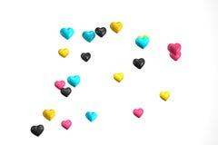 Ballon de coeur Image libre de droits