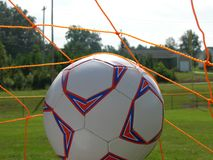 Ballon de football Photos stock