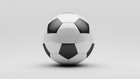 Ballon de football Photo libre de droits