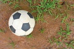 Ballon de football Images stock
