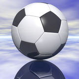 Ballon de football Photo stock