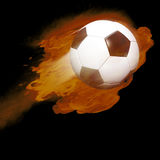 Ballon de football Image libre de droits