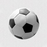 Ballon de football classique Image libre de droits