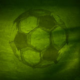 Ballon de football d'aquarelle Image stock
