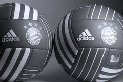 Ballon de football, d'isolement, l'espace de copie image stock