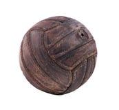 Ballon de football de vintage Images libres de droits
