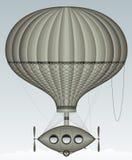 Ballon in de hemel royalty-vrije illustratie