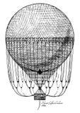 Ballon de Henri Giffard illustration libre de droits
