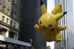 Ballon de Pikachu. Photographie stock