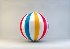 Ballon de plage Photo libre de droits