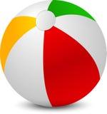 Ballon de plage simple Photos libres de droits