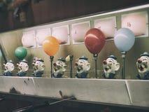 Ballon de Water Gun Game de clown Image stock