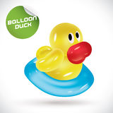 Ballon Duck Illustration Photographie stock
