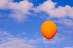 Ballon en de hemel Stock Foto's