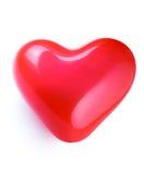 Ballon en forme de coeur rouge Photo libre de droits