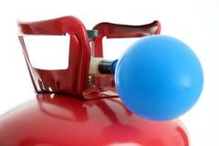 Ballon et hélium Photo stock