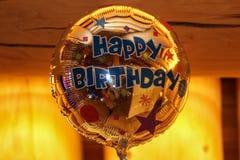 Ballon für Geburtstag stockbild