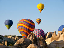 Ballon-Fahrt stockfotos