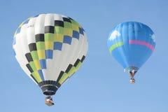 Ballon-Festival-Chateau DOex 2014 Lizenzfreie Stockfotografie