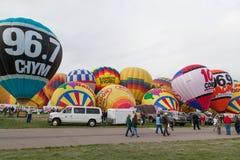 Ballon-Fiesta 2014 Lizenzfreie Stockbilder