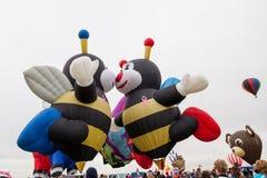 Ballon-Fiesta 2014 Lizenzfreie Stockfotografie