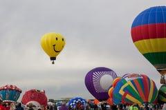 Ballon-Fiesta 2014 Stockfotografie