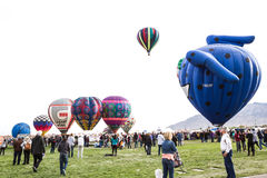 Ballon fiesta Stock Photography