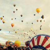 Ballon Fiesta Color Stock Photography