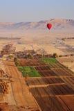 Ballon Filght bij Vallei van de Koningen Stock Foto's