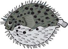 Ballon-Fisch-Illustration lizenzfreie abbildung