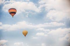 Ballon in flyght Royalty Free Stock Photos