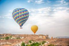 Ballon in flyght Stock Photography