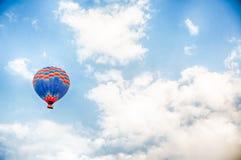 Ballon in flyght Stock Image