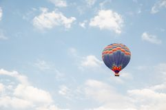 Ballon in flyght Stock Images