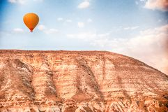 Ballon on flyght Royalty Free Stock Image