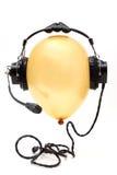 Ballon with headphone Stock Image