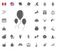 Thanksgiving Day Icon set. Design elements illlustration vector. Ballon icon. Thanksgiving Day Icon set. Design elements illlustration vector Royalty Free Stock Image