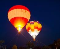 Ballon im Liebe Erscheinen für Valentinstag am Chi Lizenzfreie Stockfotografie