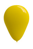 Ballon jaune brillant photo libre de droits
