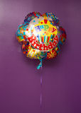 ballon Joyeux anniversaire Image stock