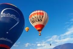Ballon Kubicek d'air chaud Photographie stock