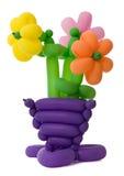 ballon kwiaty Obrazy Royalty Free