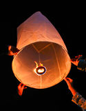 Ballon at Mae Hong Son Province of Thailand. Ballon celebration at Mae Hong Son Province of Thailand Stock Photo