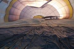 Ballon nach innen Stockbild