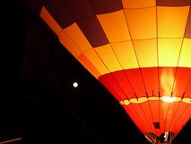 Ballon at Night Stock Photo
