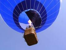 Ballon op de hemel Royalty-vrije Stock Foto